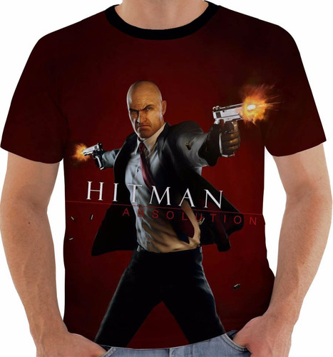 camiseta hitman absolution - games