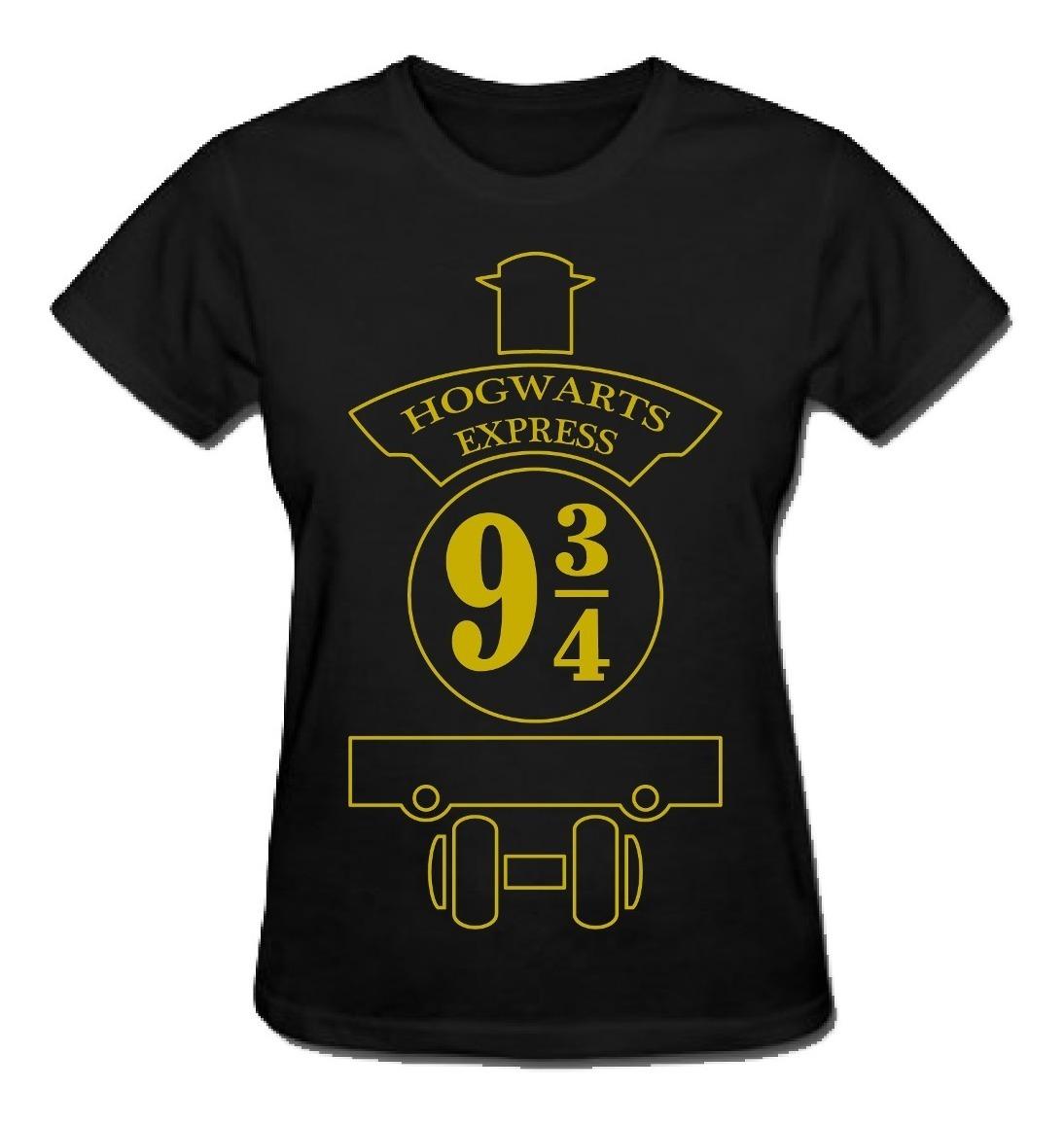 6b2f8a0d2 Camiseta Hogwarts Express 9 3/4 (harry Potter) - R$ 35,00 em Mercado ...
