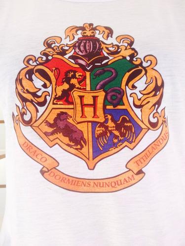 camiseta hogwarts grifinória p, m, g e gg