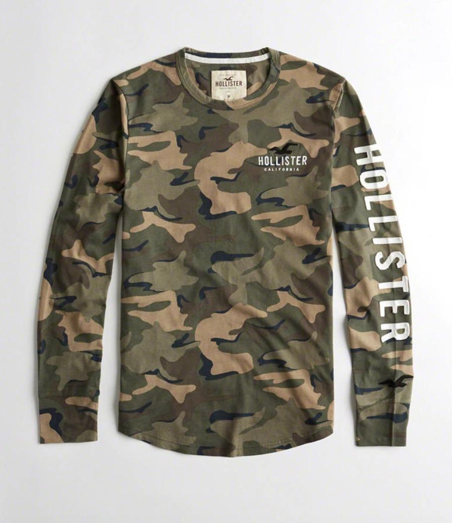 b918978a8a camiseta hollister abercrombie masc original tam g camo mgl. Carregando zoom .
