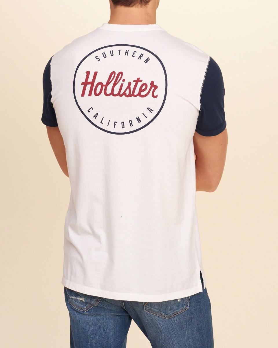 3543d53995 camiseta hollister abercrombie masculina original eua p. Carregando zoom.