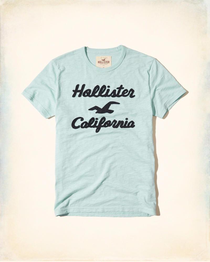 5735b045f2 camiseta hollister abercrombie masculina original eua p aqua. Carregando  zoom.
