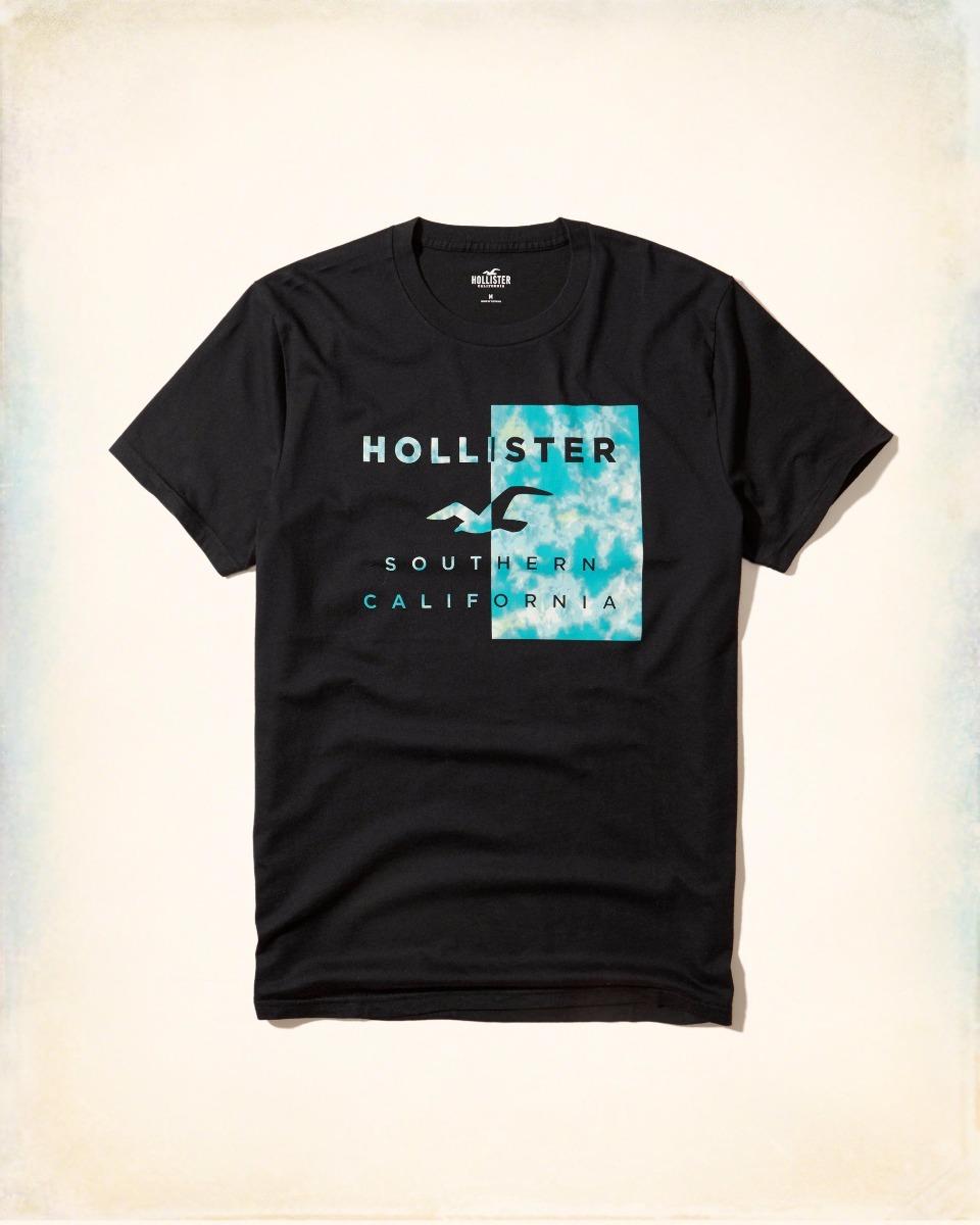 camiseta hollister abercrombie masculina original tam g pr a. Carregando  zoom. 59644550ced61