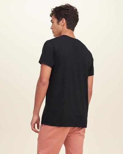 camiseta hollister - direto da loja dos eua