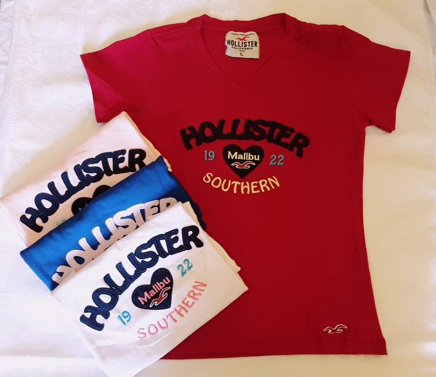59259ae916 camiseta hollister feminina. Carregando zoom.