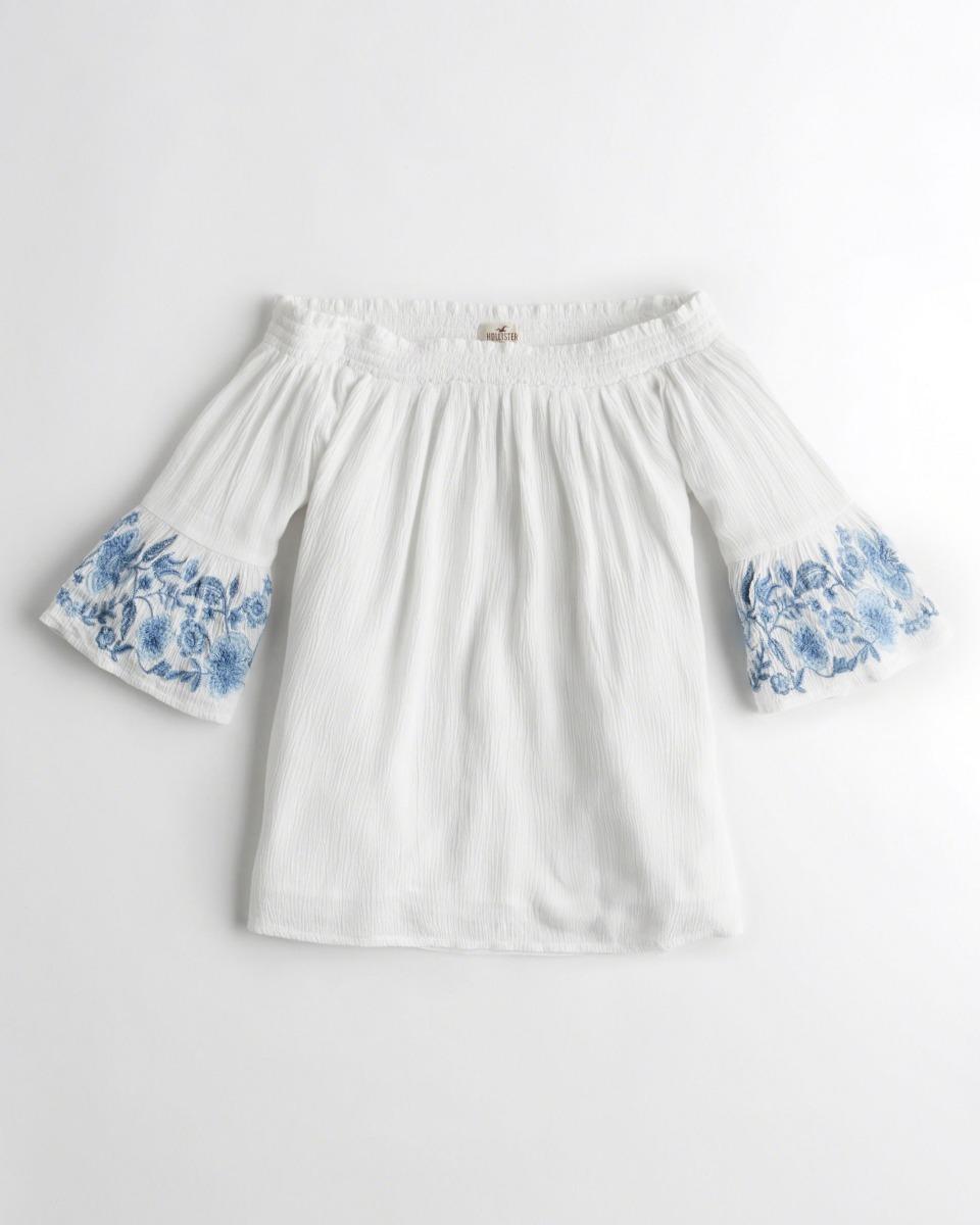 4eac880578 camiseta hollister feminina importada original blusa branca. Carregando  zoom.