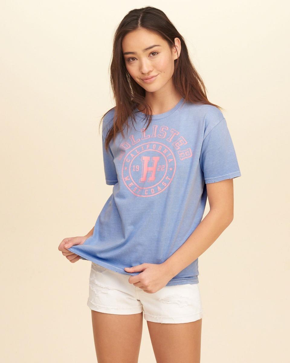 96026adcdd camiseta hollister feminina original importada pronta entreg. Carregando  zoom.