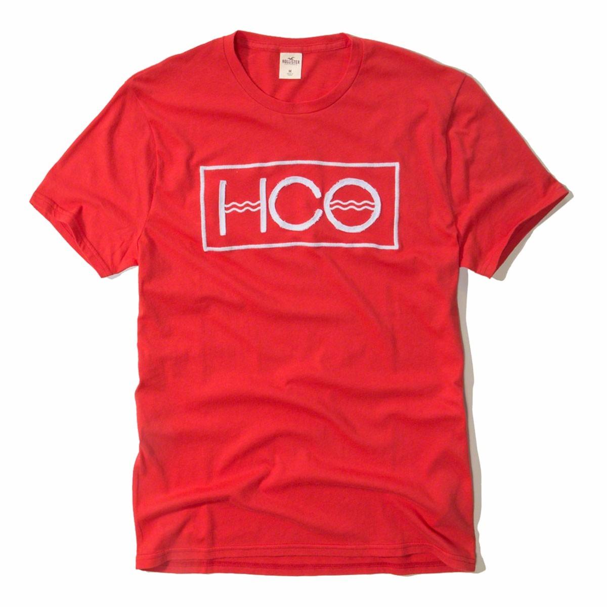05eef09409 Camiseta Hollister Masculina Irada 100% Original - Tam G P54 - R  126