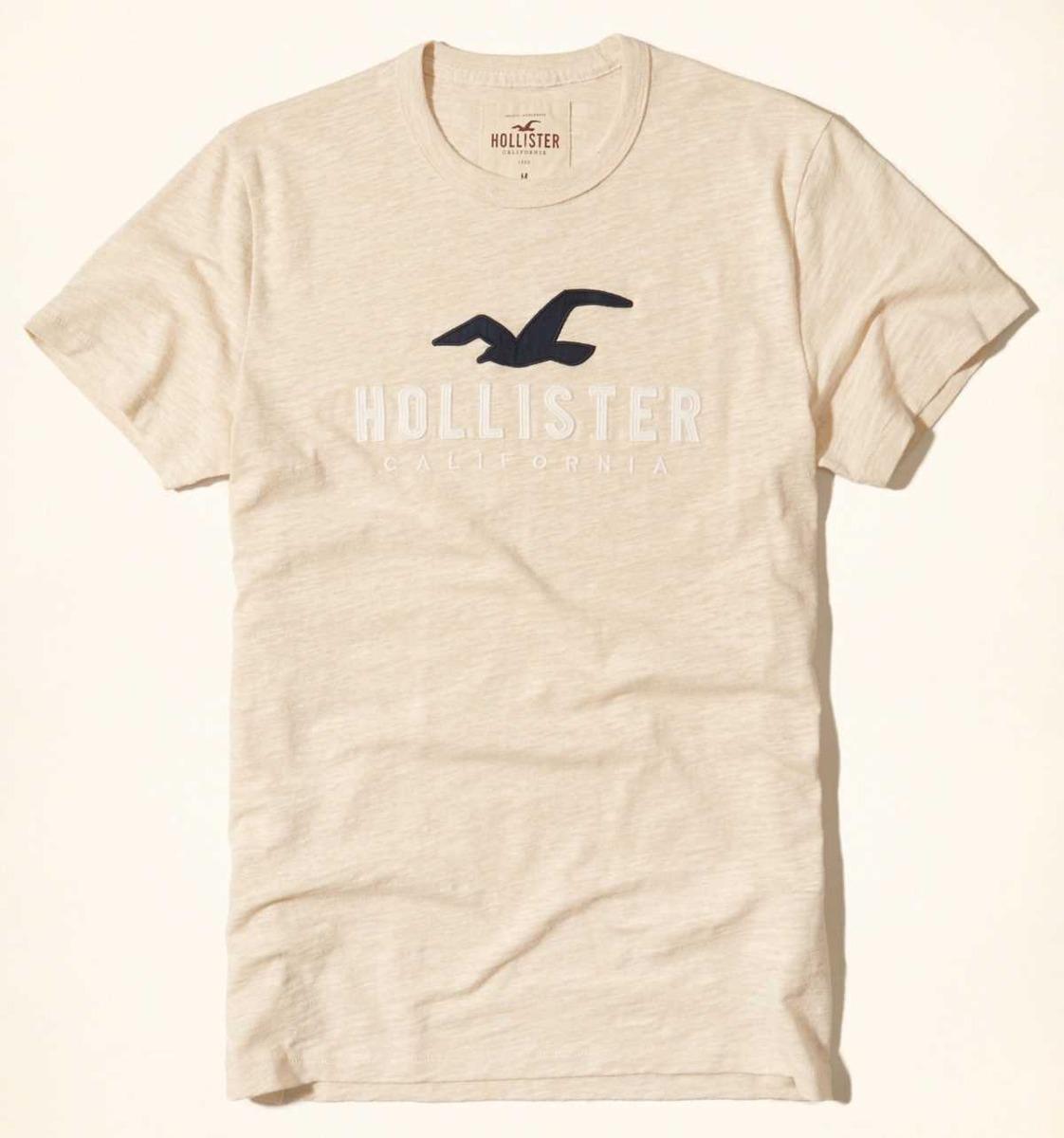 Camiseta Hollister Original Importada Eua Tamanho M Médio - R  110,49 em Mercado  Livre c1d972ef09