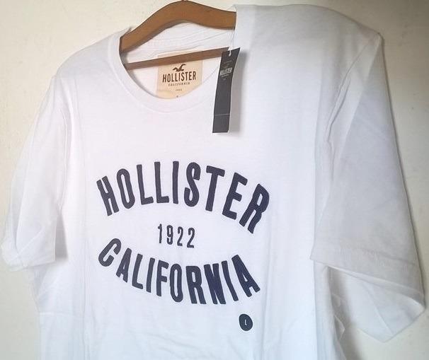Camiseta Hollister Original Masculina Us - R  120,00 em Mercado Livre fc15571391