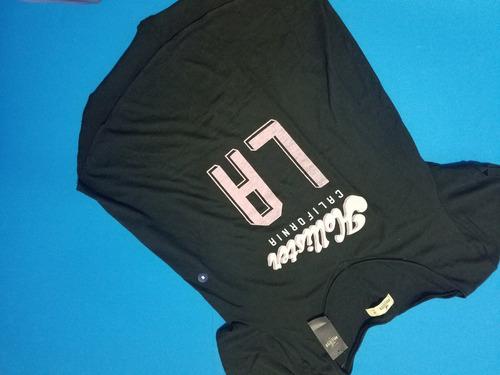 camiseta hollister original nueva para mujer