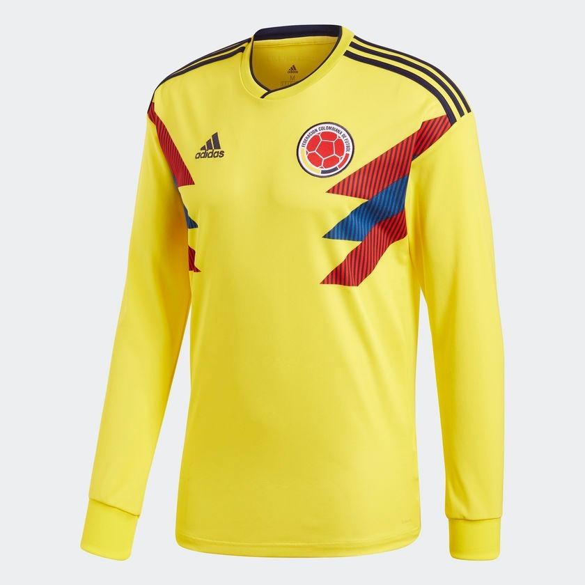 Camiseta Hombre M larga Colombia Climalite Rusia 2018 -   24.990 en ... 0d7eb4bddfc6e
