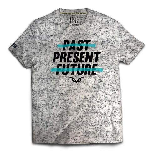 camiseta hombre fokus present tee