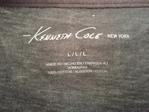 camiseta hombre kenneth cole