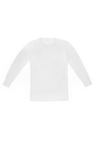 camiseta hombre manga larga interlock - tres ases oficial