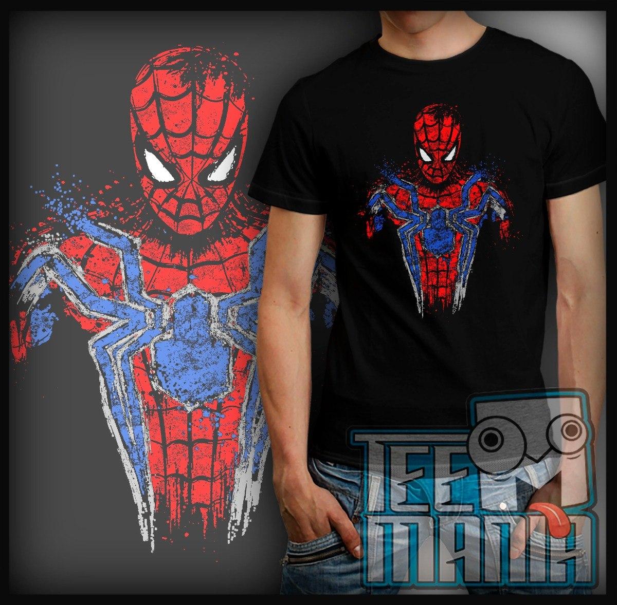 55aa17976 camiseta homem aranha fantasia spider man. Carregando zoom.