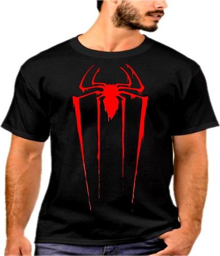 camiseta homem aranha heroi marvel avengers oferta relampago