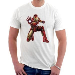 camiseta homem de ferro - guerra civil - vingadores