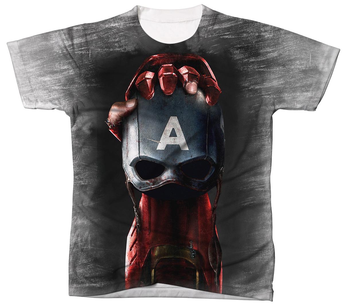 6495af8ca8 Camiseta Homem De Ferro Ref 040 Camisa Masculina - R  41