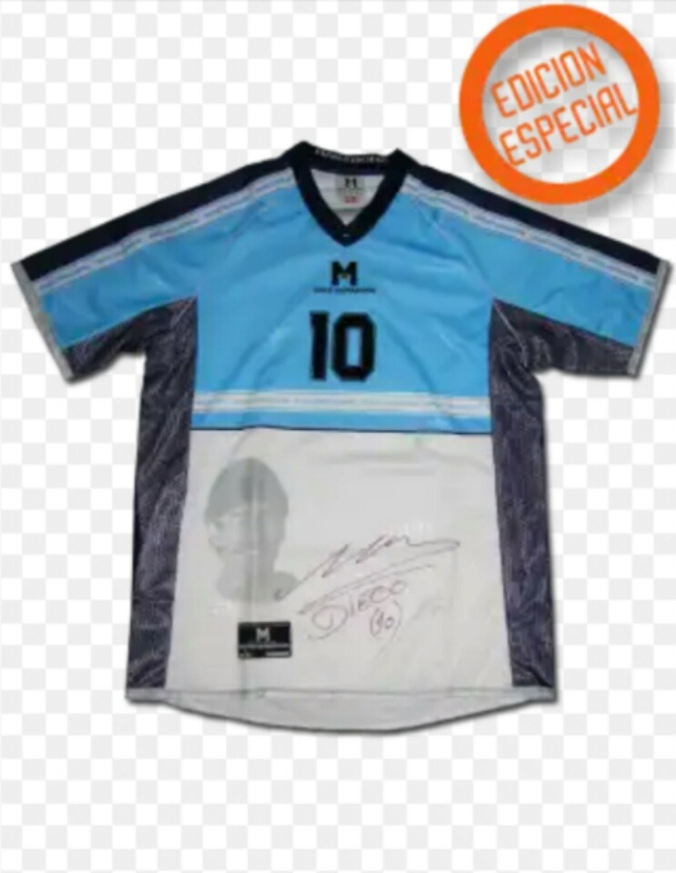 c2aeae4acecba camiseta homenaje diego maradona milla limitada s m l. Cargando zoom.