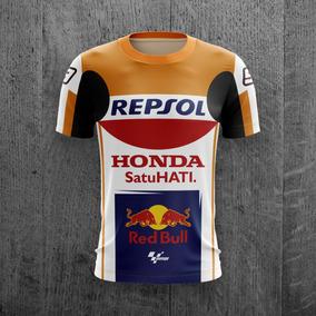 6f252670ef Camiseta Marc Marquez Honda Repsol Moto Gp Velocidade