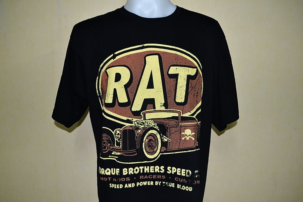 819e877e5 Camiseta Hot Rod Rat Old School Low Rider Rockabilly