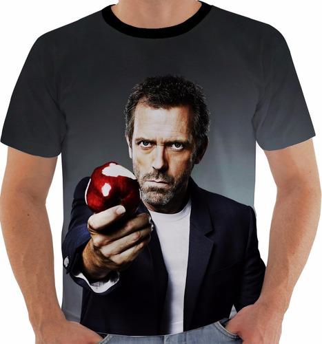camiseta house - hugh laurie - series