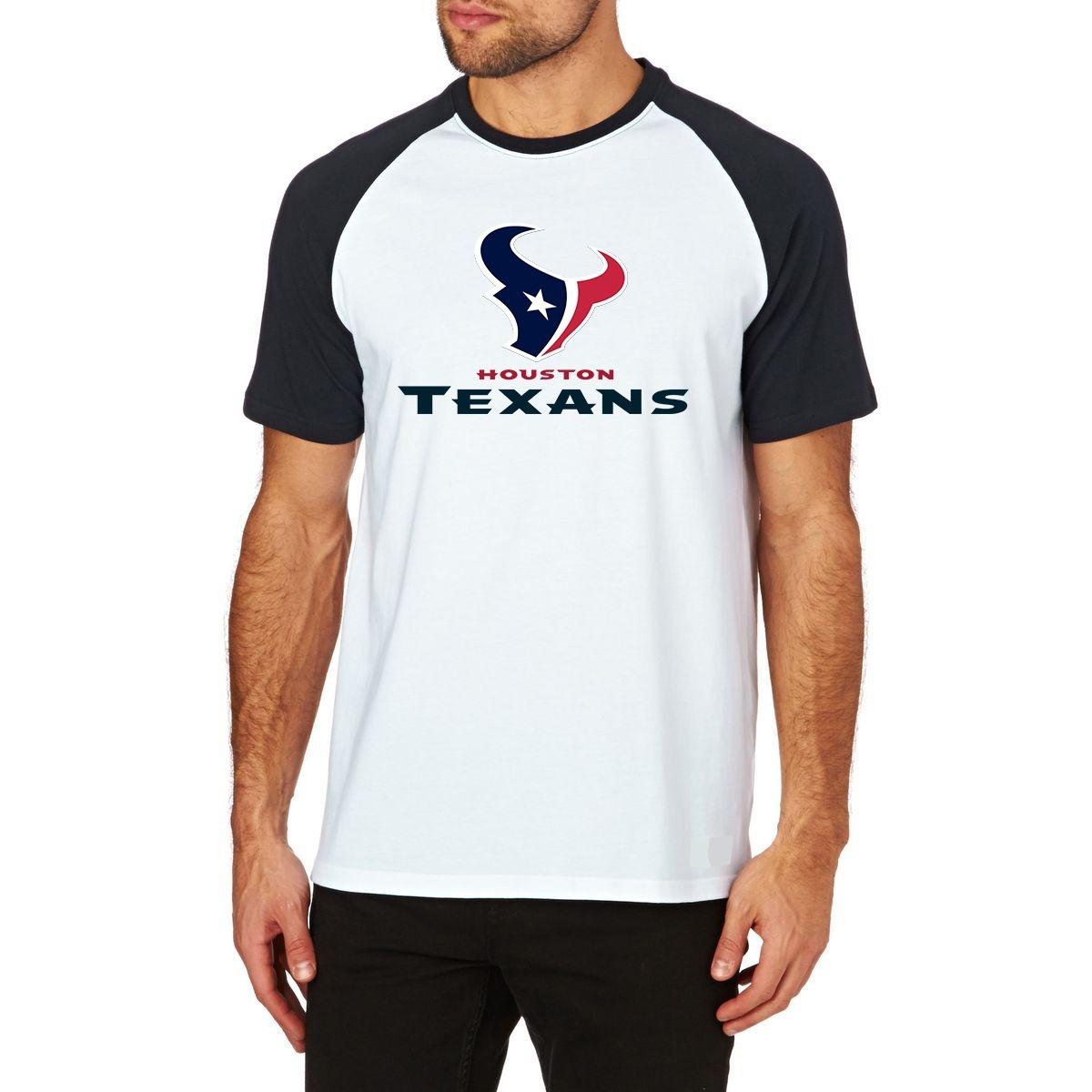 0223e0b05ee59 camiseta houston texans raglan futebol americano nfl m01. Carregando zoom.