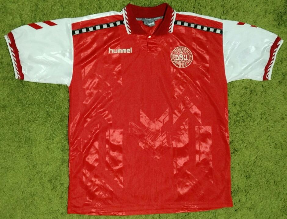 Camiseta Hummel Dinamarca -   55.000 en Mercado Libre a7c01ae8e48