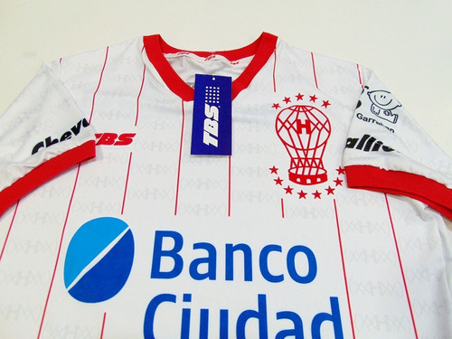 camiseta huracan titular tbs 2019 + numero gratis+ saf