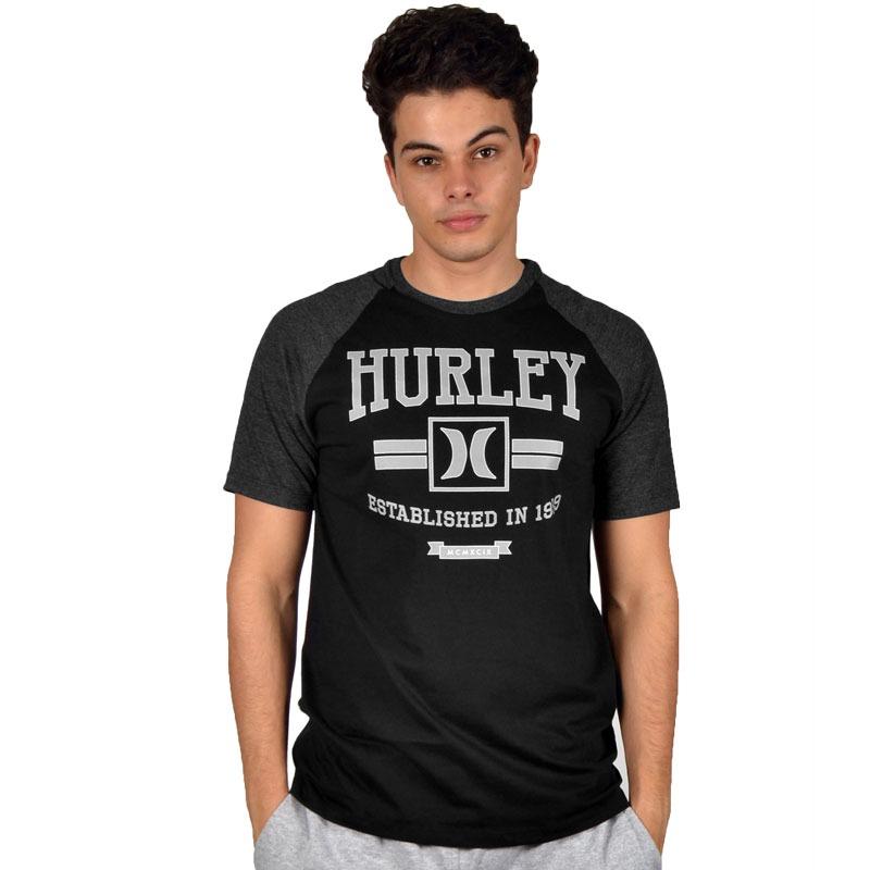 camiseta hurley especial new dawn preta. Carregando zoom. 19a7b7a2fe6d8