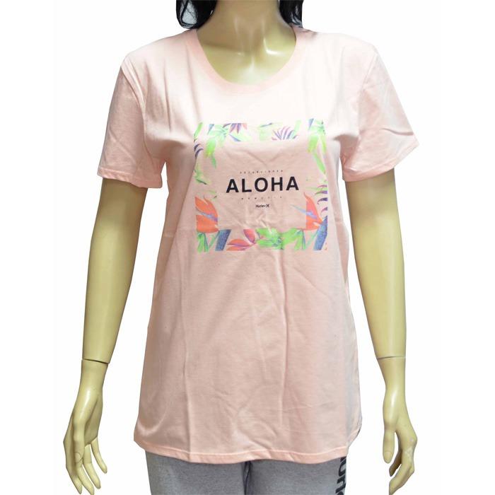 Camiseta Hurley Girls Aloha - Rosa - R  89 44eb3a3b301