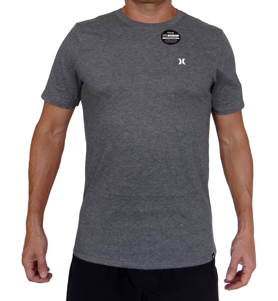 dbfa82a1040d4 Camiseta Hurley Icon Drifit Prem Shor In -   114.900 en Mercado Libre