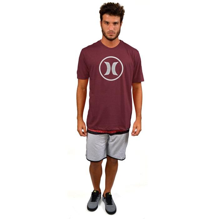 Camiseta Hurley Icon Only Vermelha - R  79 f1b9e464fa6