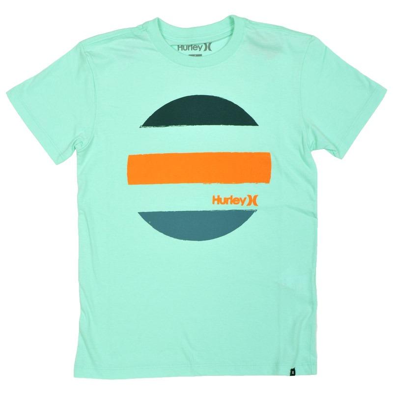 camiseta hurley infantil drive through verde. Carregando zoom. 142bed43e26