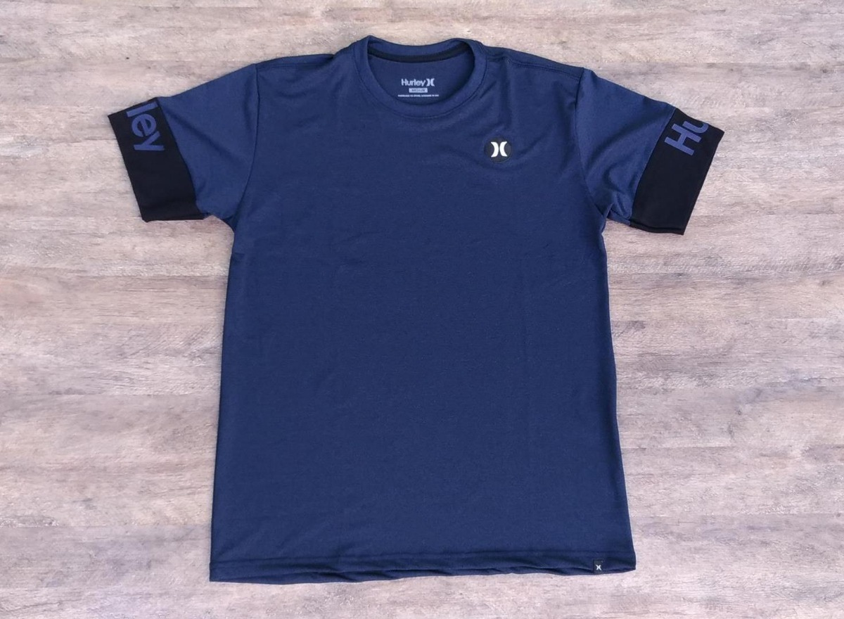 camiseta hurley part icon - surfe masculina tecido especial. Carregando  zoom. f87add1c377