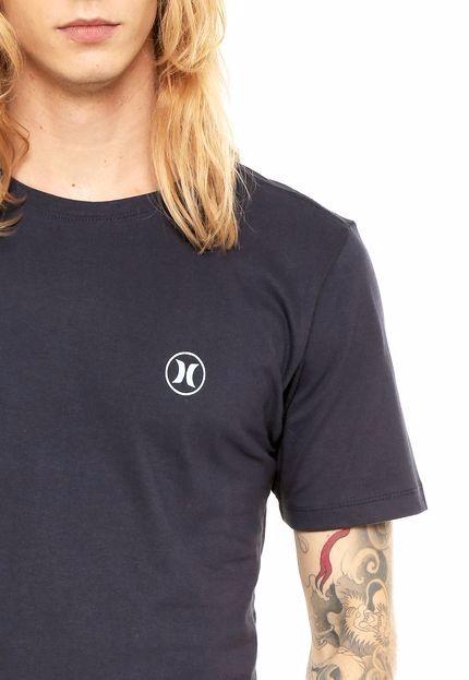 dc5e841887707 Camiseta Hurley Silk Block Party Icon Azul - R  119