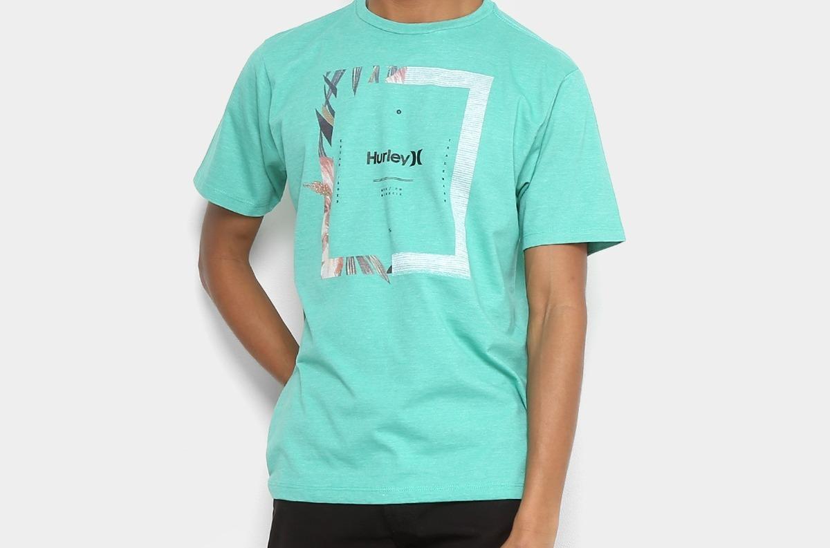 camiseta hurley silk bloom masculina original jp sports. Carregando zoom. 31e31a94bf9