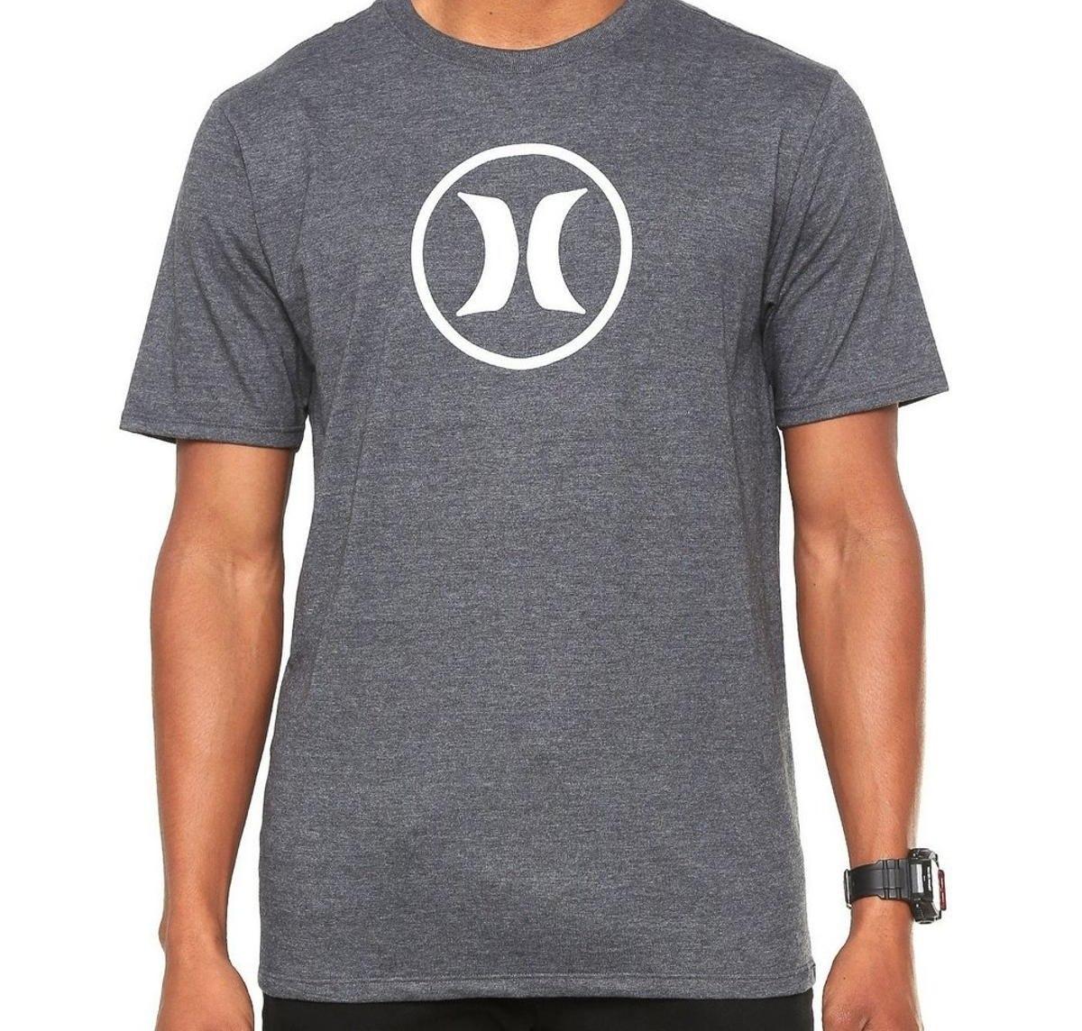 camiseta hurley silk circle icon masculina original jpsports. Carregando  zoom. 5816cf5b9cc