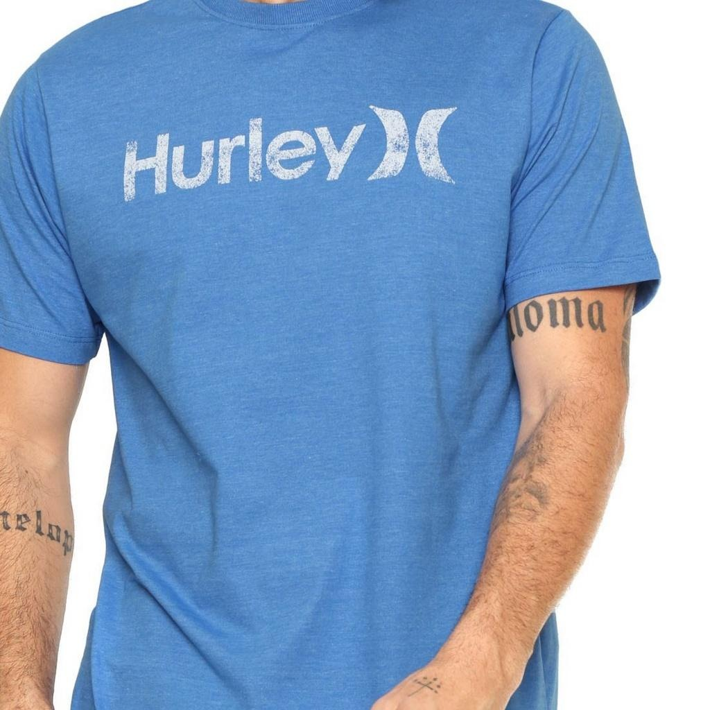 camiseta hurley silk o o push throught azul. Carregando zoom. 1a0a6dcfc34
