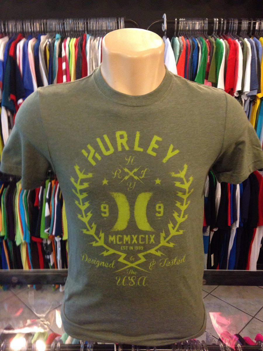 eb207ce610 Camiseta Hurley Verde Tam P  457 Original Regata Polo Camisa - R  49 ...