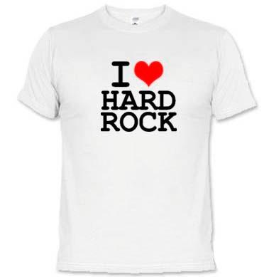 camiseta i love hard rock