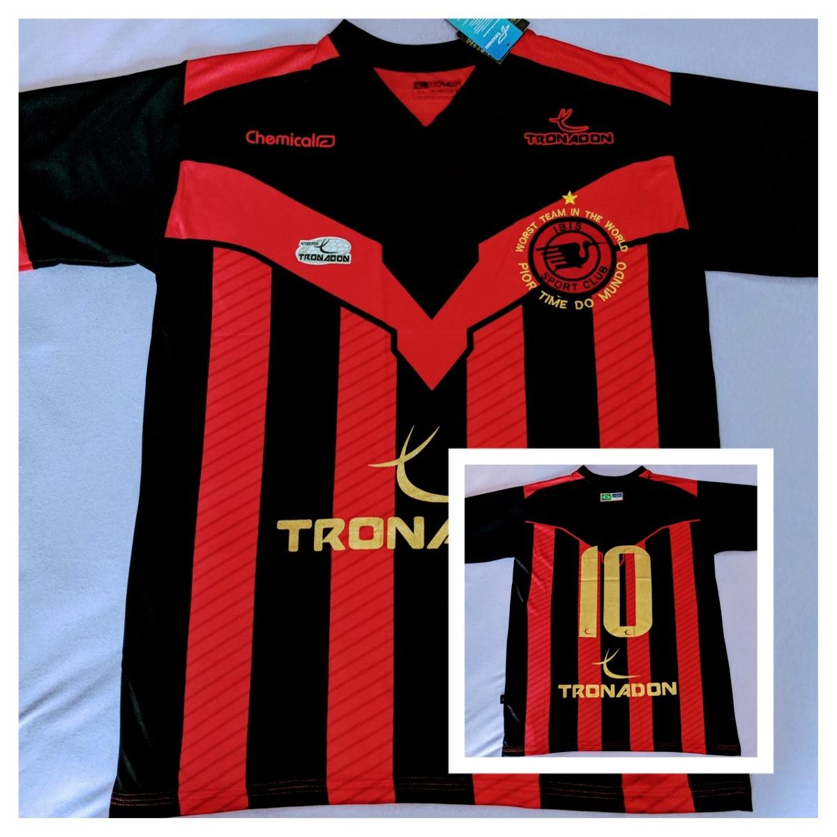 e1f34c57da Camiseta Ibis Sport Club   O Pior Time Do Mundo - R  350