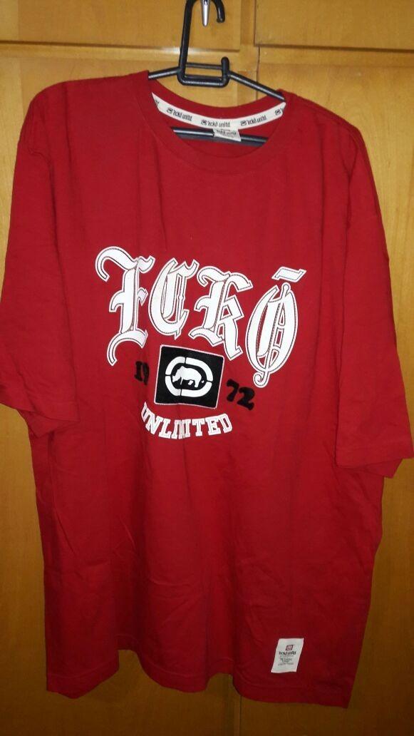 camiseta importada ecko vermelha tamanho 2xl. Carregando zoom. 917e158c8e003