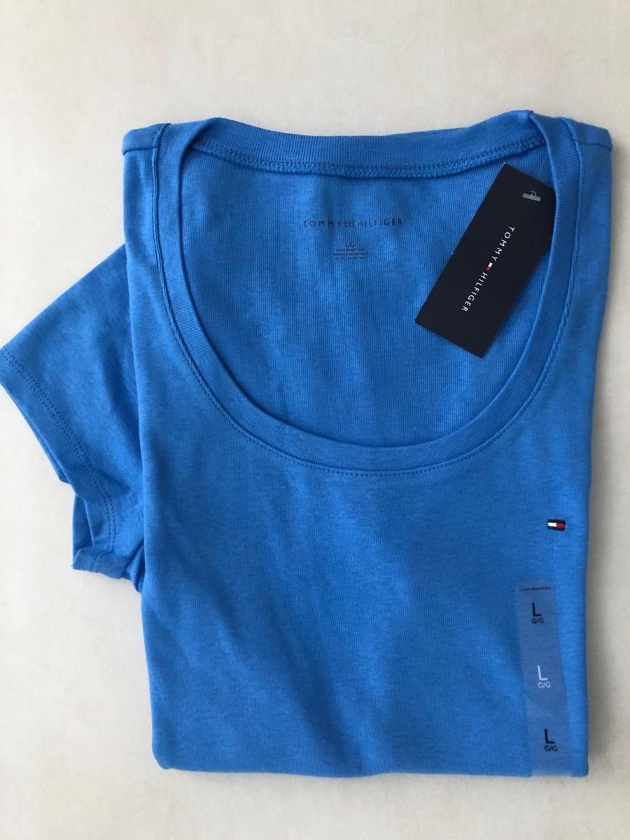 50602d3b67 camiseta importada tommy hilfiger feminina listrada lisa th. Carregando zoom .