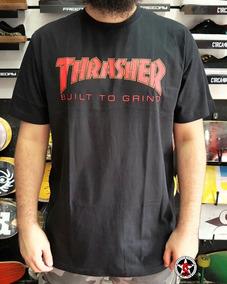 f213c2549b Camiseta Independent Collab Thrasher Thr Btg