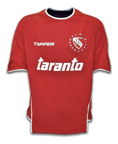 camiseta independiente topper original