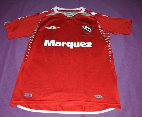 camiseta independiente umbro, 2005. talle l niño o dama