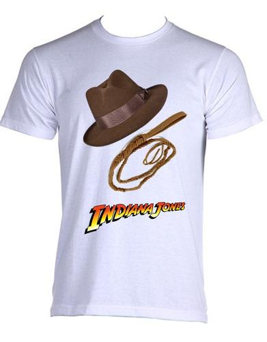 camiseta indiana jones cinema filmes nostalgia - 02