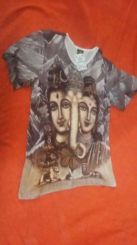 camiseta indiana trio indiano